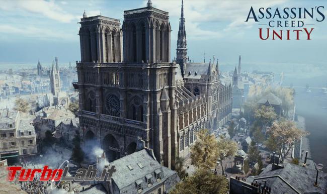 Ubisoft regala Assassin's Creed Unity, videogame Notre-Dame - Annotazione 2019-04-21 100349