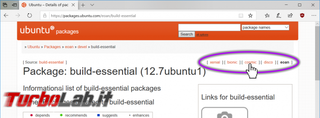 Ubuntu 20.04: come scaricare pacchetti apt installarli offline