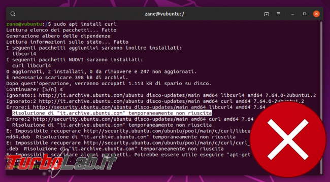 Ubuntu: come scaricare pacchetti apt installarli offline