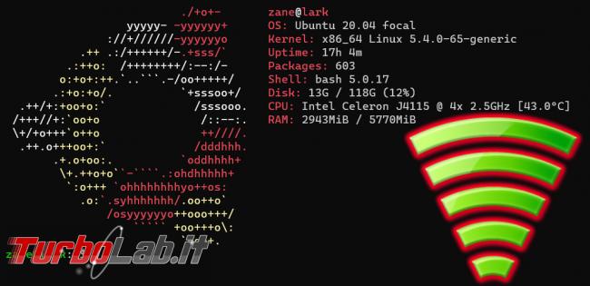 Ubuntu Server connessione Wi-Fi linea comando: guida rapida (configurazione netplan pacchetto wpa_supplicant)