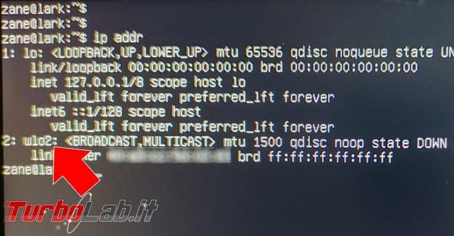 Ubuntu Server connessione Wi-Fi linea comando: guida rapida (configurazione netplan pacchetto wpa_supplicant) - IMG_20210128_092040