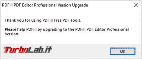 Unire / separare file PDF tanto altro: PDFill PDF Tools 15 Beta è programma tutto fare