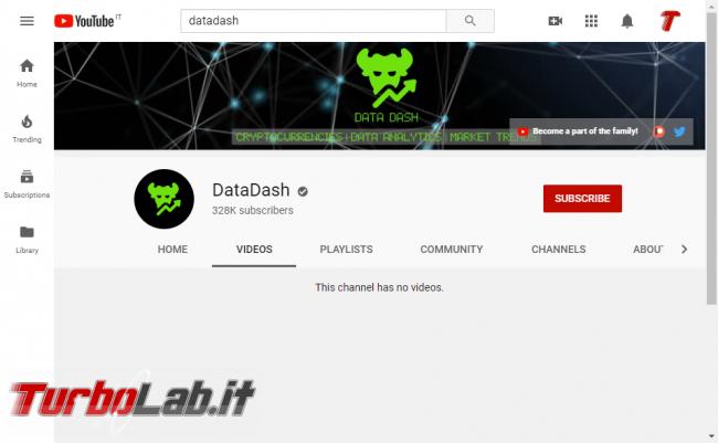 [Upd: errore tecnico, video ripristinati] YouTube contro criptovalute: decine video rimossi ( ) - screen_xps_1577263039