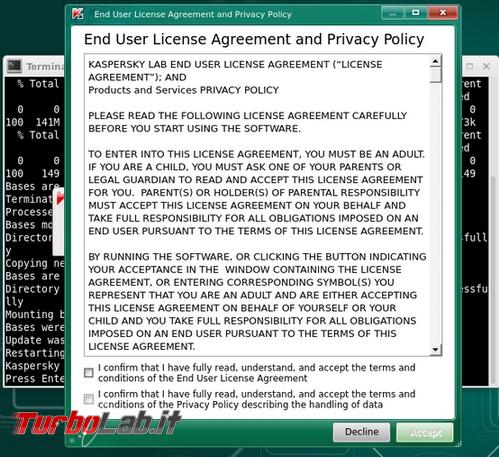 Utilizzare Kaspersky Rescue Disk ripulire computer infetto malware