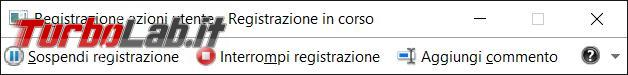Utilizzare Registrazione azioni utente mostrare altri problema ricevere supporto