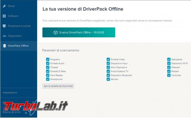 Vale pena utilizzare DriverPack aggiornare driver computer?