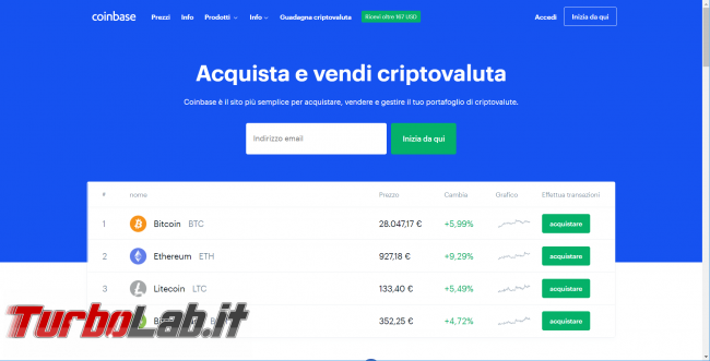 Valore Bitcoin aggiornato app ricevere notifiche/avvisi variazione prezzo smartphone Android