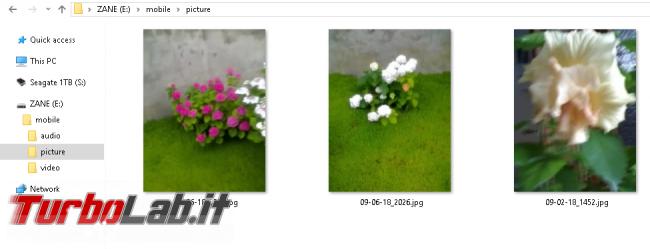 Vecchio telefono Motorola RAZR / KRZR: come recuperare / copiare foto PC Windows 10 (guida)