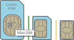 Vecchio telefono Motorola RAZR / KRZR: come recuperare / copiare foto PC Windows 10 (guida) - mini-sim micro-sim nano-sim
