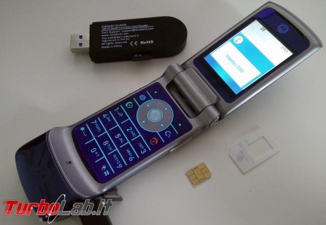 Vecchio telefono Motorola RAZR / KRZR: come recuperare / copiare foto PC Windows 10 (guida) - vecchio telefono Motorola KRZR