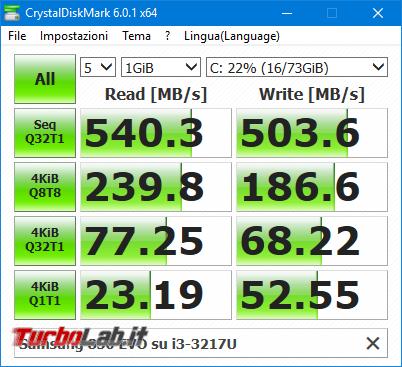 Velocità reale SSD SATA lettura scrittura: quanti MB/s è velocità normale SSD SATA? - Mobile_zShot_1538235604
