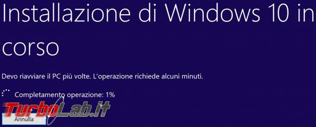 Video-guida: come aggiornare Windows 10 1903 (Maggio 2019) DVD, ISO USB (upgrade build offline, senza Internet Windows Update)