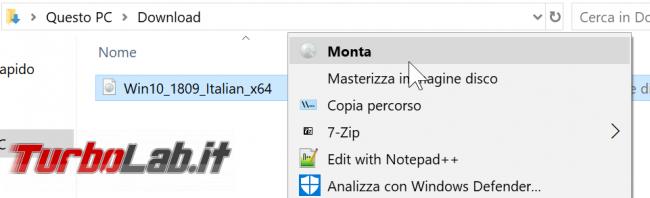 Video-guida: come aggiornare Windows 10 1909 (Novembre 2019) DVD, ISO USB (upgrade build offline, senza Internet Windows Update)