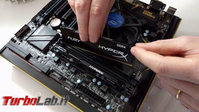 Video-guida completa: come assemblare PC autonomia (CPU, MoBo, RAM, SSD)