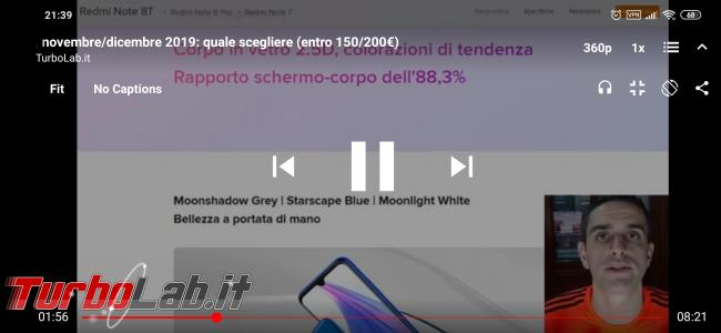 Video YouTube senza pubblicità Android: guida NewPipe ( block) - Screenshot_2020-01-11-21-39-20-889_org.schabi.newpipe