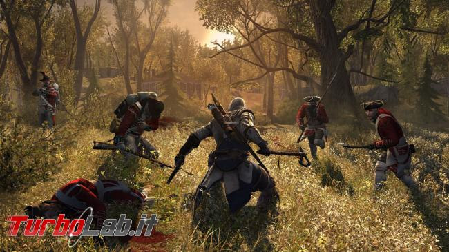 Videogame gratis: Ubisoft regala Assassin's Creed III, Prince of Persia, Splinter Cell ed altri - assassins creed 3