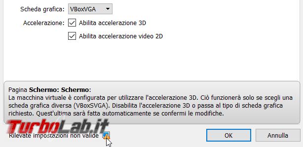 VirtualBox: quali differenze VBoxVGA, VMSVGA VBoxSVGA? Qual è migliore?