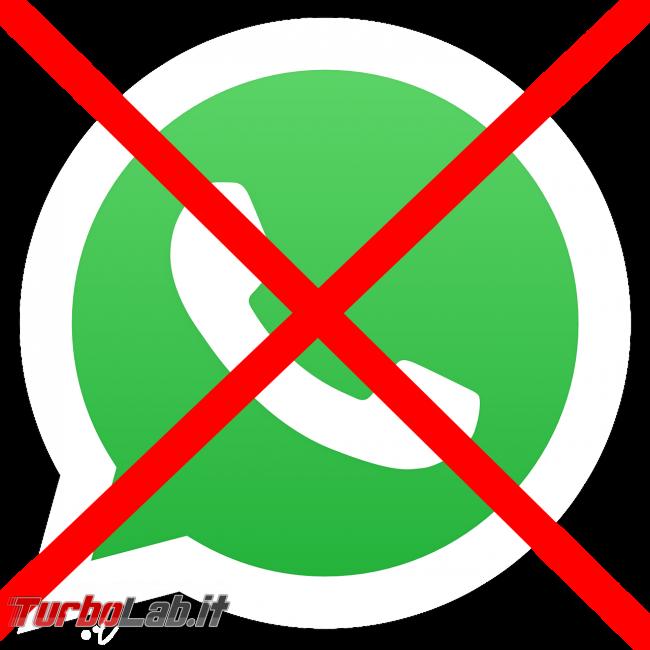 WhatsApp smetterà funzionare Windows Phone, vecchi Android iOS - whatsapp disabled