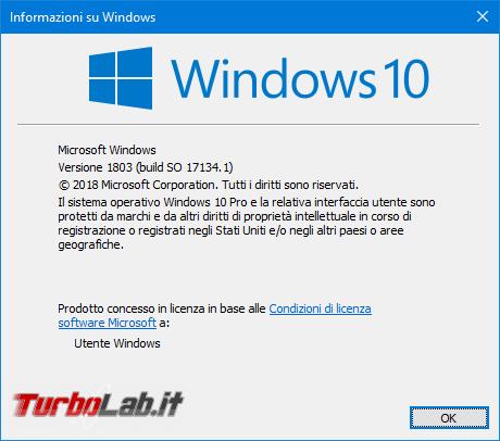 Windows 10 1803: tutte novità aggiornamento Aprile 2018 - Mobile_zShot_1525171138