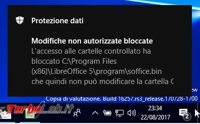 Windows 10, attivare protezione anti-ransomware: come mettere sicuro file tramite Controlled Folder Access / Accesso cartelle controllato (guida)