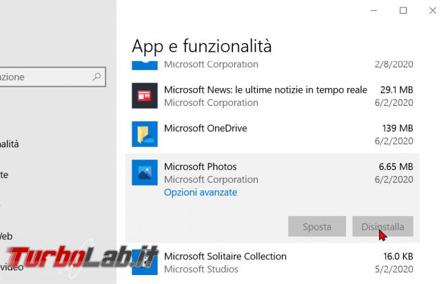 Windows 10: come attivare/installare Visualizzatore foto Windows 7/Windows 8 sostituire app Foto (ripristinare Visualizzatore immagini) - zShotVM_1591131132