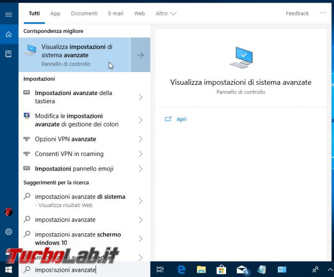 Windows 10: come disattivare/rimuovere ombra finestre (guida)