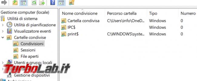 Windows 10: come eliminare condivisioni amministrative (ADMIN$, C$) ed evitare vengano ri-create - zShotVM_1585406549