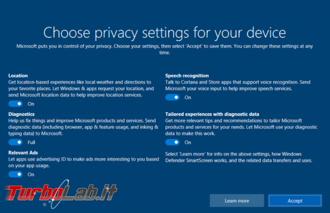 Windows 10 continua violare privacy utenti - FrShot_1567001110