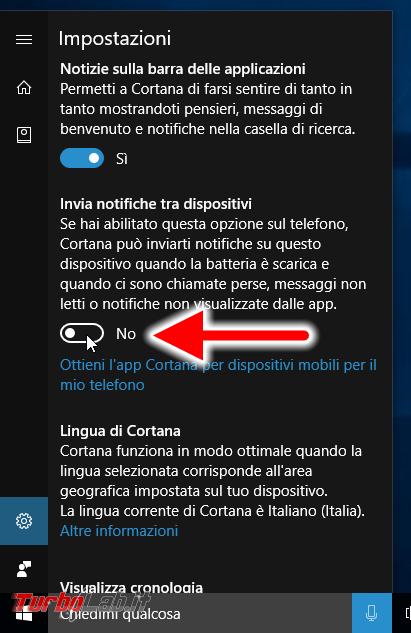Windows 10 incontra Android: guida definitiva sfruttare insieme PC smartphone - localizzarlo farlo squillare remoto, sincronizzare notifiche, inviare SMS creare promemoria condivisi - windows 10 1607 cortana invia notifiche tra dispositivi