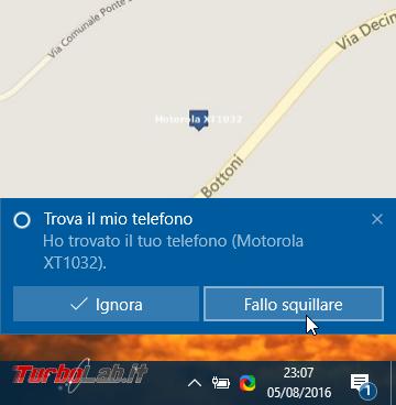 Windows 10 incontra Android: guida definitiva sfruttare insieme PC smartphone - localizzarlo farlo squillare remoto, sincronizzare notifiche, inviare SMS creare promemoria condivisi - windows 10 cortana fai squillare telefono