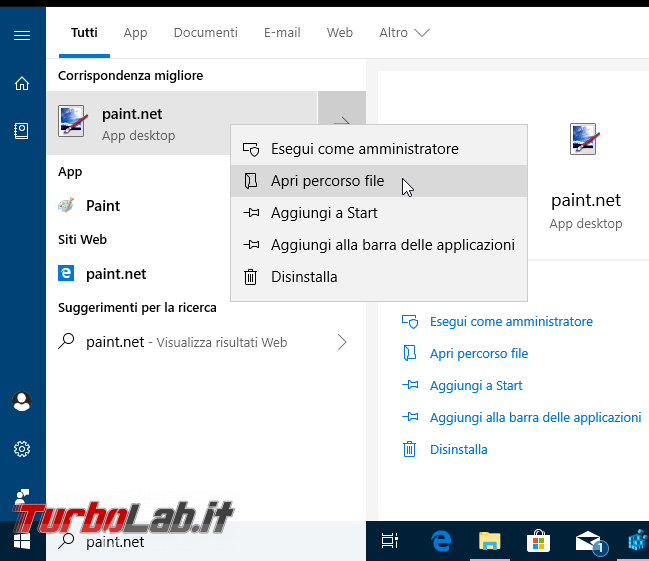 "Windows 10, menu ""Modifica"" file immagine foto (jpeg, png, ...): come modificare programma si apre? (sostituire Paint Photoshop, Gimp, Paint.net altro)"