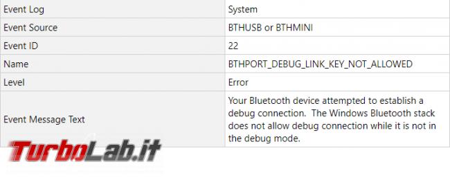 Windows 10: problemi dispositivi Bluetooth dopo update 11 giugno 2019 - Annotazione 2019-06-12 103710