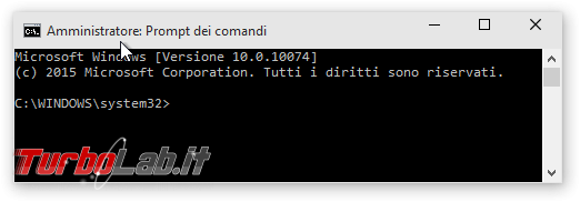 """Windows 10, Prompt comandi: accesso negato - come aprire (sempre) """"Prompt comandi"""" Amministratore - Amministratore Prompt dei comandi"""