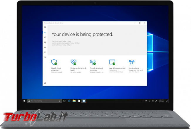 Windows 10 S: cos'è? quali limitazioni ha? differenze ci sono Windows 10 S Home/Pro? - windows 10 s windows defender security center
