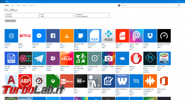 Windows 10 S: cos'è? quali limitazioni ha? differenze ci sono Windows 10 S Home/Pro? - windows store app