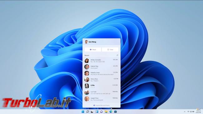 Windows 11, annuncio ufficiale. upgrade Windows 10 sarà gratuito - Screenshot from 2021-06-24 17-18-37
