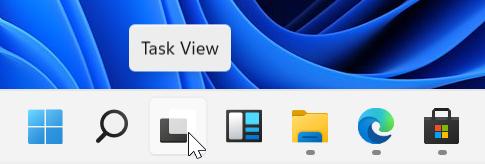 Windows 11, FAQ italiano - risposte veloci domande frequenti - Windows 11 taskbar icon