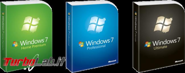 """Windows 7, fine supporto: devo abbandonare Windows 7? quando è data """"stop aggiornamenti""""?"""