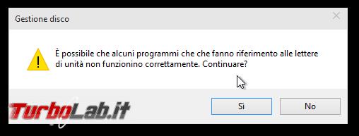 """Windows: come cambiare """"lettera"""" (D:, : ecc.) disco/partizione?"""