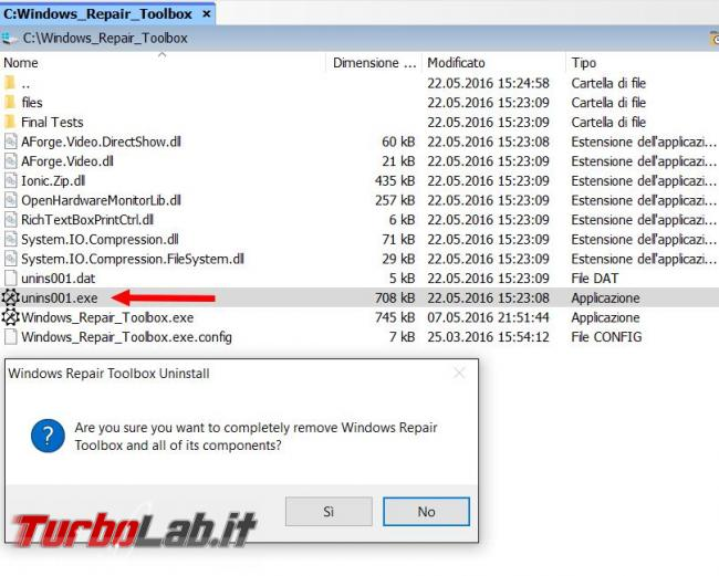 Windows Repair Toolbox ha (quasi) tutto necessario riparare problemi Windows