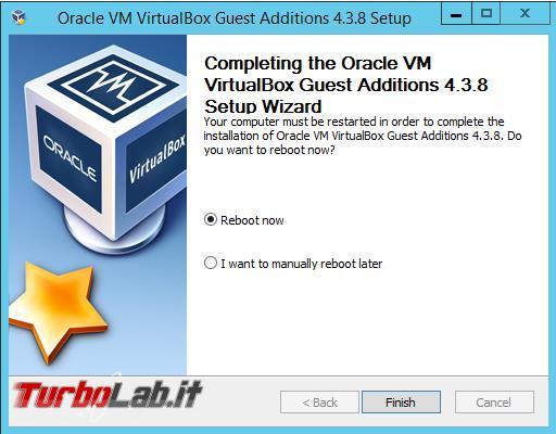 "Windows VirtualBox: schermo intero (""fullscreen""), appunti condivisi cartella condivisa"