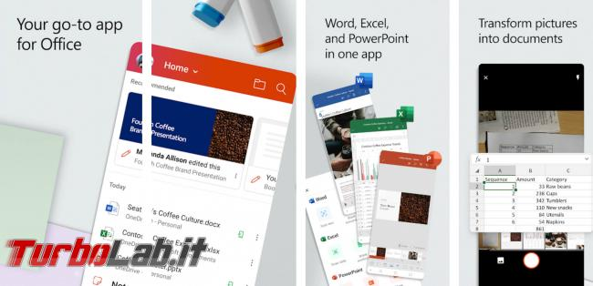 Word, Excel PowerPoint tutte : disponibile gratis app Microsoft Office unificata Android - 2020-02-18-image-32