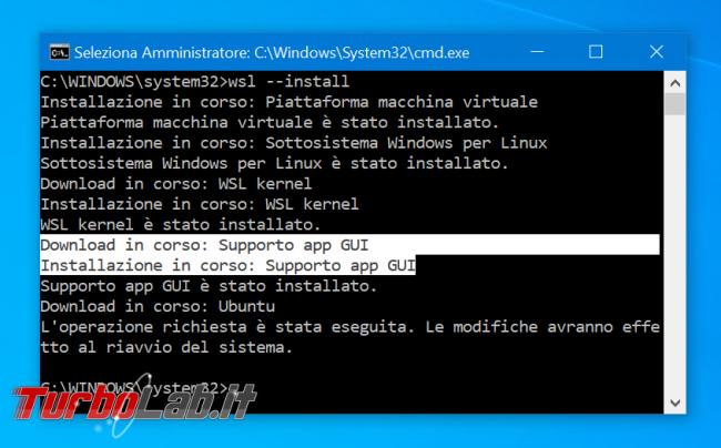 WSL Windows 10: come eseguire programmi Linux interfaccia grafica (WSLg, modo ufficiale 2021/2022)