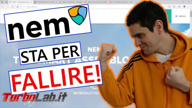 XEM potrebbe valere zero: progetto NEM sta fallire (video)