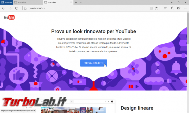 "YouTube: come attivare tema scuro/nero (""dark mode"") uso notte"