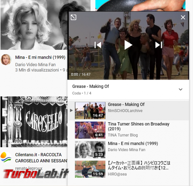 YouTube: come creare playlist (funzione Aggiungi coda)