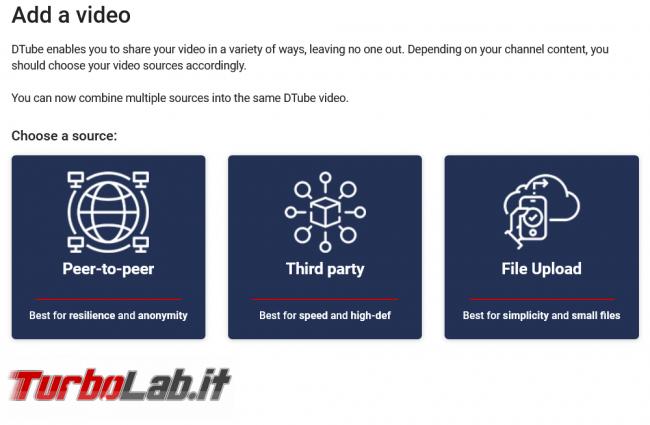 'Youtube' decentralizzato? Introduzione Dtube - Screenshot_2021-04-10 Add a video - DTube