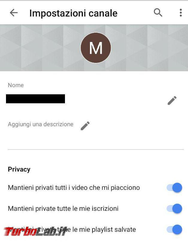 YouTube: tieni sotto controllo privacy - photo_2019-06-17_09-21-33