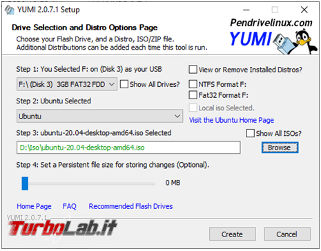 YUMI crea facilmente pendrive multiboot